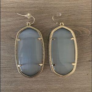 Danielle Kendra Scott Earrings - Slate grey